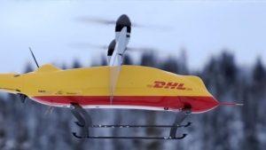 Zustellung mit dem DHL Paketkopter 3.0
